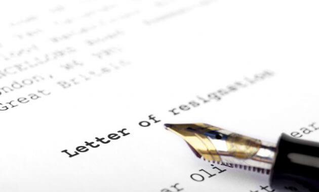 contoh surat pengunduran diri lengkap