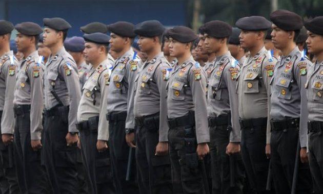 Pangkat dan Golongan Polisi Terlengkap