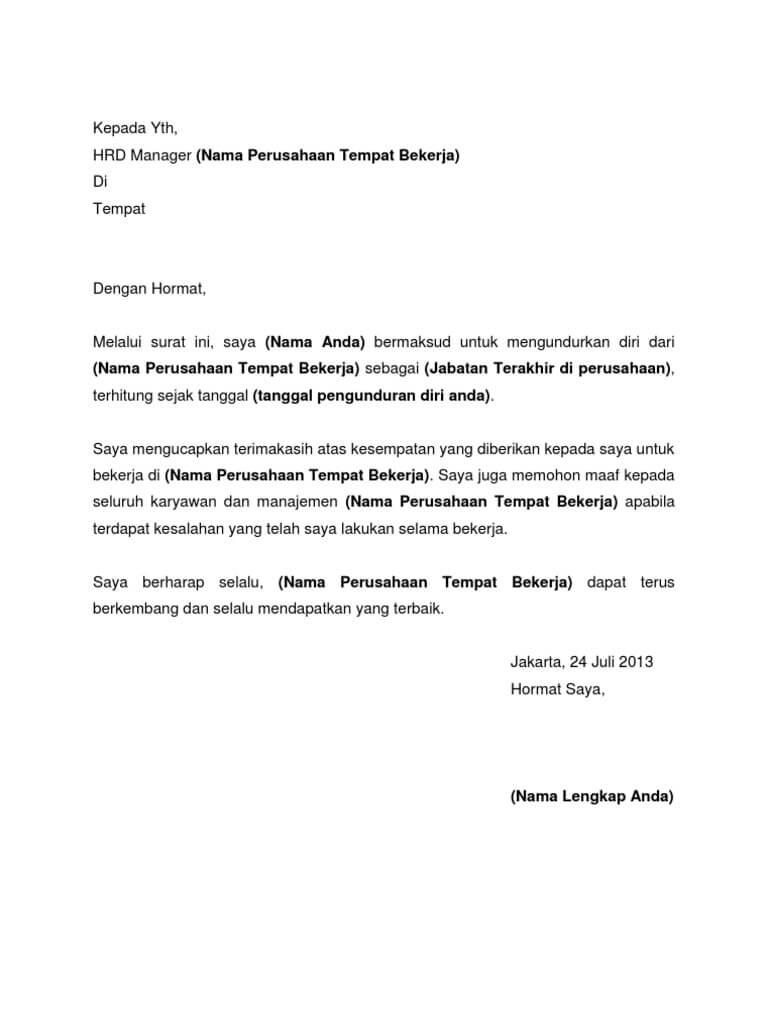 50+ Contoh Surat Lamaran Kerja Pabrik Rokok - BERBAGI RESEP